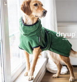 DryUp Cape - Der Hundebademantel - Limited Edition Dark green