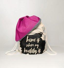 Hundedecke BUDDY.Büggel pink - Reisedecke