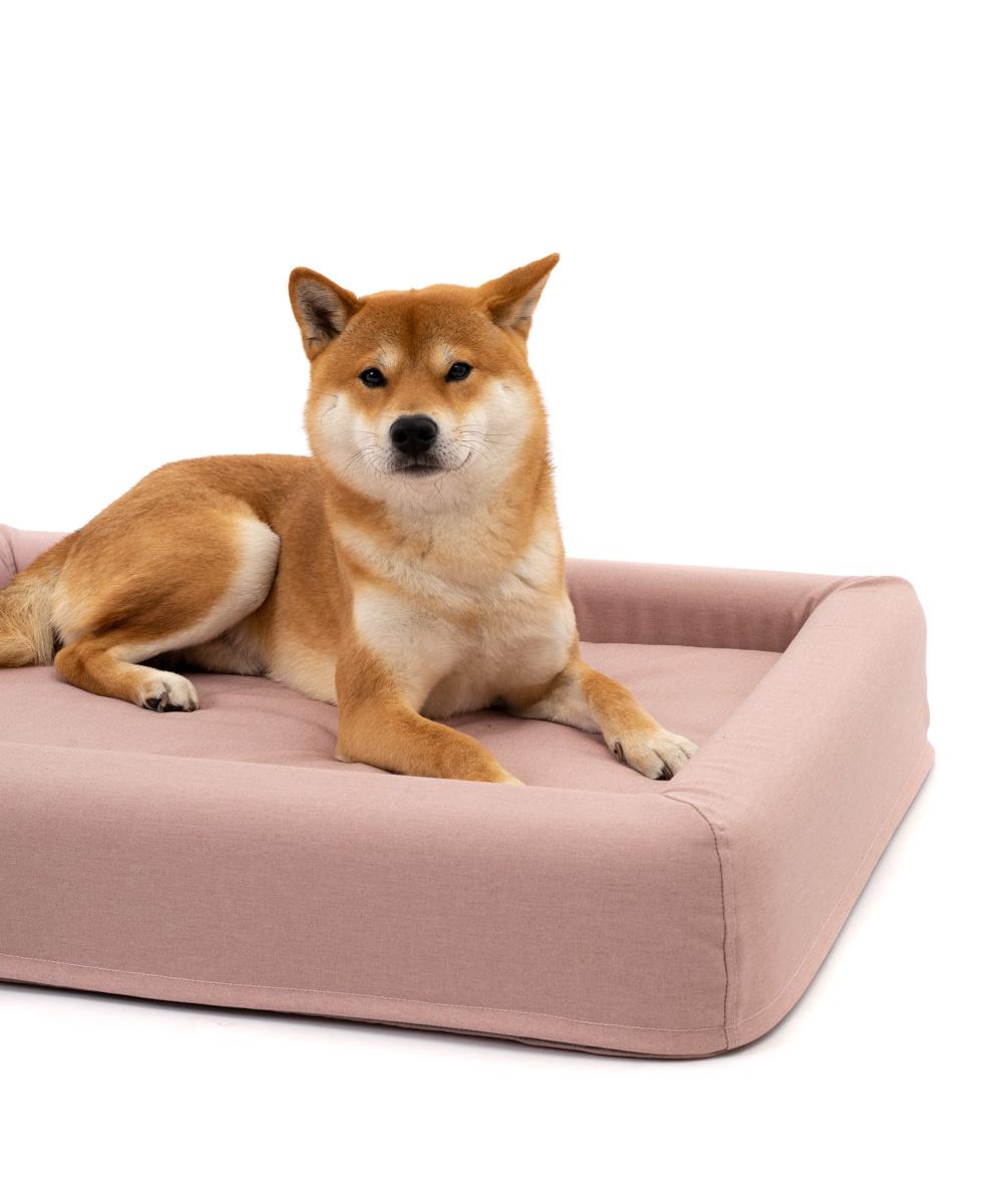 Das FINNTO Hundebett Rose