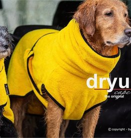 DryUp Cape - Der Hundebademantel - Limited Edition Yellow