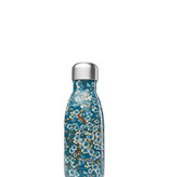 Iso Flasche Thermo  – Flowers Blau