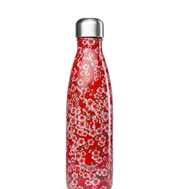 Iso Flasche Thermo – Flowers Rot