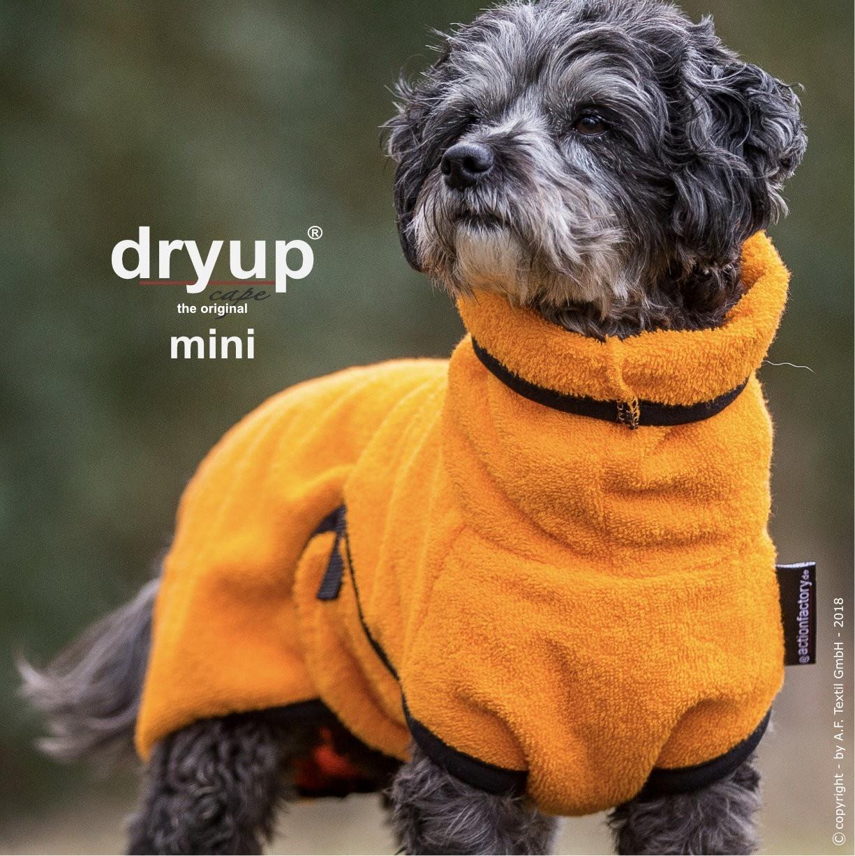 DryUp Cape - Der Hundebademantel - clementine