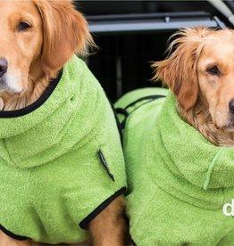 DryUp Cape - Der Hundebademantel - kiwi