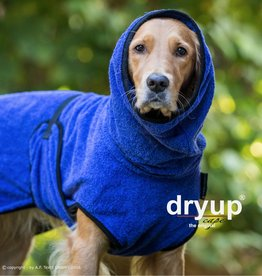 DryUp Cape - Der Hundebademantel - blueberry