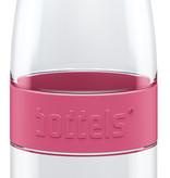 Trinkflasche DREE 650ml Himbeerrot mit Packje