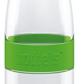 Trinkflasche DREE 650ml Apfelgrün mit Packje