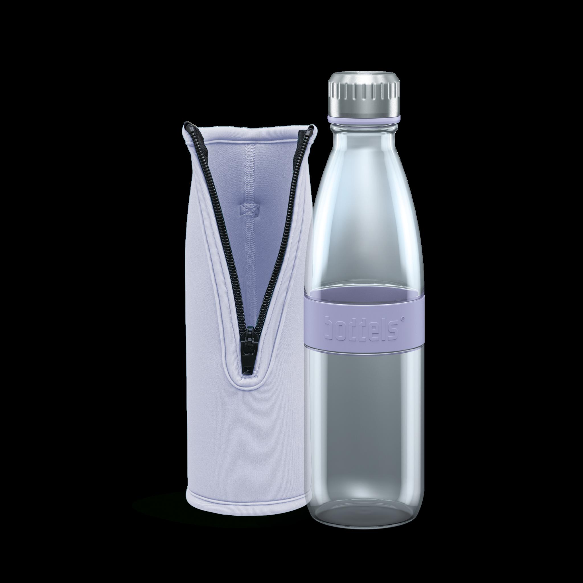 Trinkflasche DREE 650ml Lavendelblau mit Packje