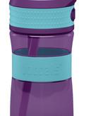Trinkflasche EEN 400ml Türkisblau / Lila