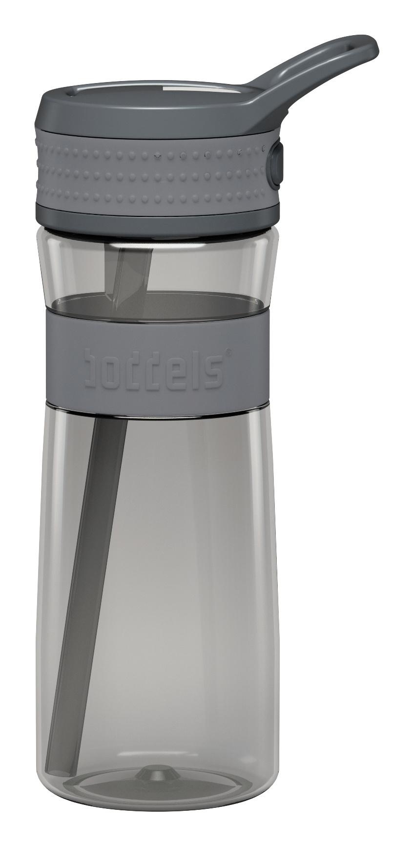 Trinkflasche EEN 600ml Hellgrau / Grau