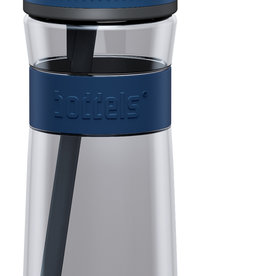 Trinkflasche EEN 600ml Nachtblau / Grau