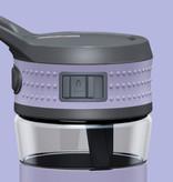 Trinkflasche EEN 600ml Lavendelblau / Grau