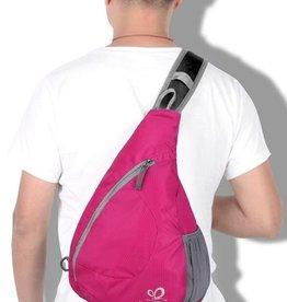 Crossbody rose red  - Schultertasche für unterwegs