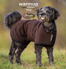 "Warm Up Cape classic ""mini"" braun 30 cm"
