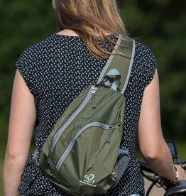Crossbody backpacks army green