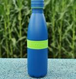 Trinkflasche TWEE+ 500ml Apfelgrün/Blau