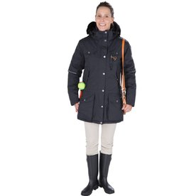 GoodBoy! Damen Winterjacke MARIBO in granit
