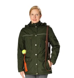 GoodBoy! Damen Winterjacke CHARLY in oliv