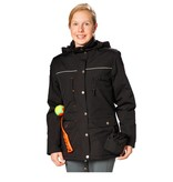 GoodBoy! Damen Winterjacke CHARLY in schwarz