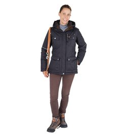 GoodBoy! Damen Winterjacke MELLBY in schwarz