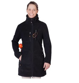 GoodBoy! Damen Fleecejacke ELLA in schwarz