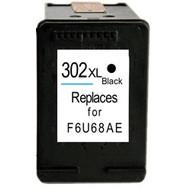 Hewlett Packard HP 302XL (F6U68AE) inktcartridge zwart  (Huismerk)
