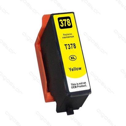 Epson inktpatroon 378XL Yellow (Huismerk)