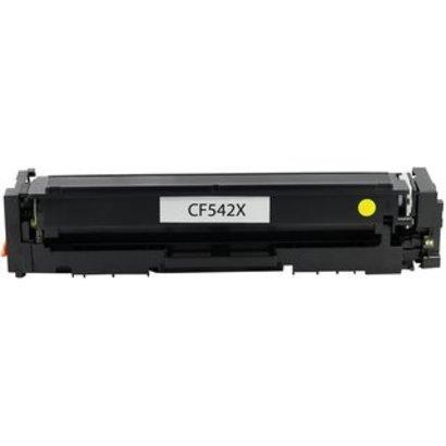 HP 203X (CF542X) Toner yellow (Huismerk)