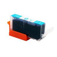 Canon inktpatroon CLI-521 cyaan met chip (Huismerk)
