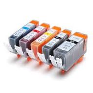 Canon inktpatronen CLI-521 / PGI-520 voordeelset  |  met chip (Huismerk)