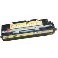 HP 309A (Q2672A) toner yellow (Huismerk)