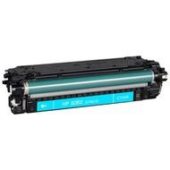 HP 508X (CF361X) toner cyaan (Huismerk