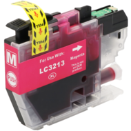 Brother inktpatroon LC-3213 magenta (Huismerk)