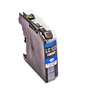 Brother inktpatroon LC-123 zwart MET CHIP (Huismerk)
