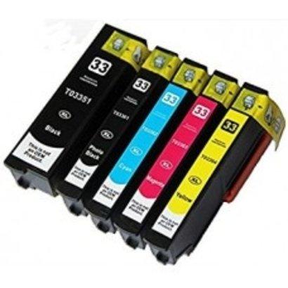 Epson inktpatronen voordeelsset 33xl(Huismerk)