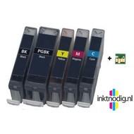 Canon inktpatronen PGI-5 / CLI-8 voordeelset | met chip (Huismerk)