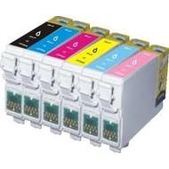 Epson inktpatronen T0801 t/m T0806 voordeelset (Huismerk)