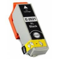 Epson inktpatroon 26 XL (T2621) zwart (Huismerk)