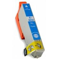 Epson inktpatroon 26 XL (T2632) cyaan (Huismerk)