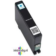 Dell inktpatroon Series 33 cyaan (Huismerk)