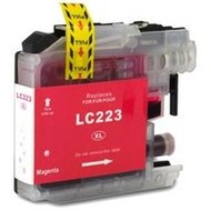 Brother Inktpatroon LC-223 magenta  (Huismerk)