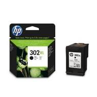 HP 302XL (F6U68AE) inktcartridge zwart (origineel)
