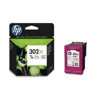 HP 302XL (F6U65AE) inktcartridge kleur  (origineel)