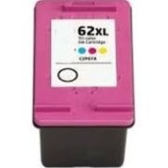 HP 62XL (C2P07AE) inktpatroon kleur 20 ml (huismerk)