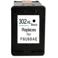 HP 302XL (F6U68AE) inktcartridge zwart  (Huismerk)