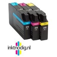 Lexmark inktpatroon 210XL cyaan (Huismerk)