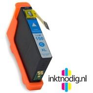 Lexmark inktpatroon 150XL (14N1615E) cyaan (Huismerk)