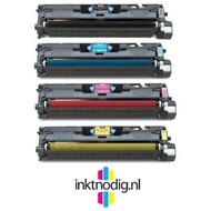 HP 122A (Q3960, Q3961, Q3962 & Q3963A) toner voordeelset (Huismerk)
