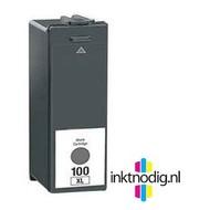 Lexmark inktpatroon 100XL zwart (Huismerk)