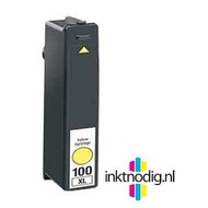 Lexmark inktpatroon 100XL yellow (Huismerk)